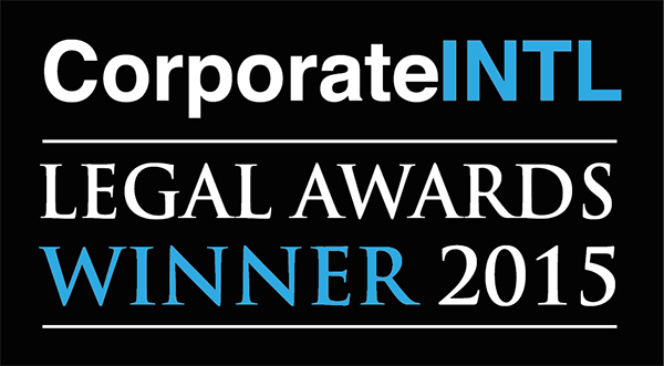 Legal Awards Winner 2015