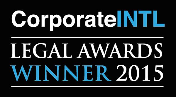 Legal Awards Winner 2015